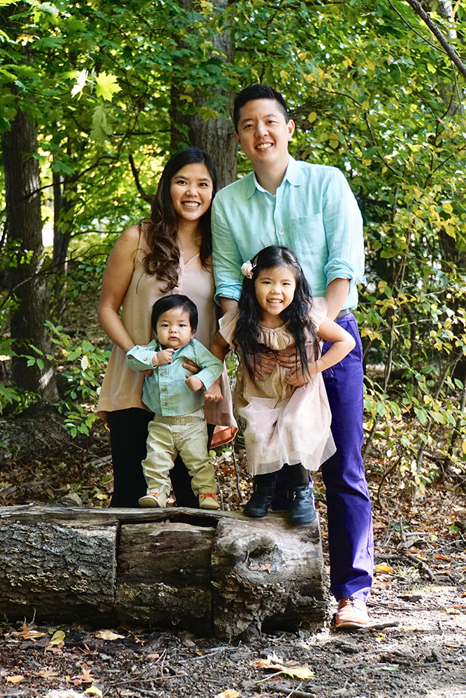 Dr. Hubert Park and his family